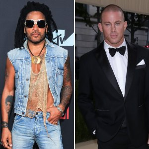 LOL! Lenny Kravitz Asks Channing Tatum for a 'Magic Mike' Role