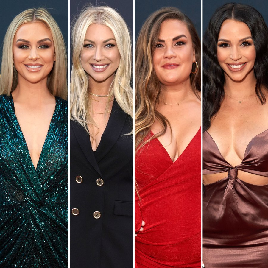 Lala Kent Stassi Schroeder Brittany Cartwright and Scheana Shay Reunite With 4 Babies for 1st Time