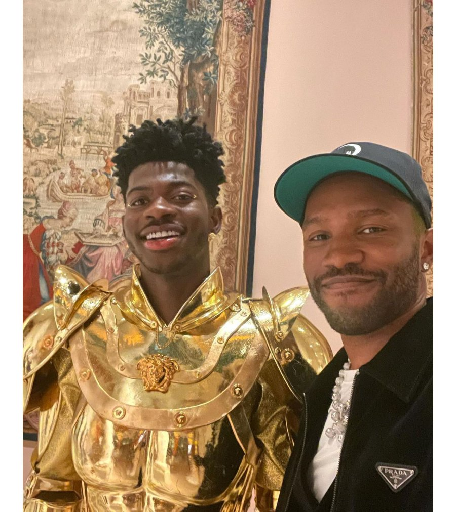 Lil Nas X Instagram 04 Inside the 2021 Met Gala Best Selfies and Snaps