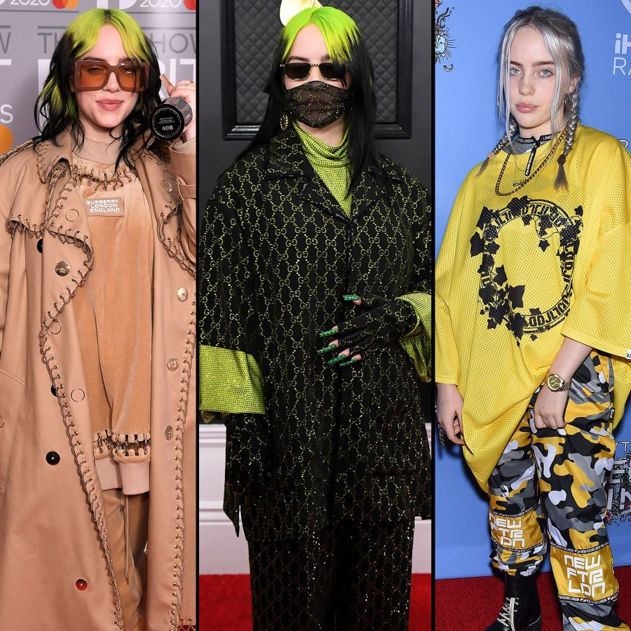 Look Back at Billie Eilish's Dramatic Style Evolution Through the Years