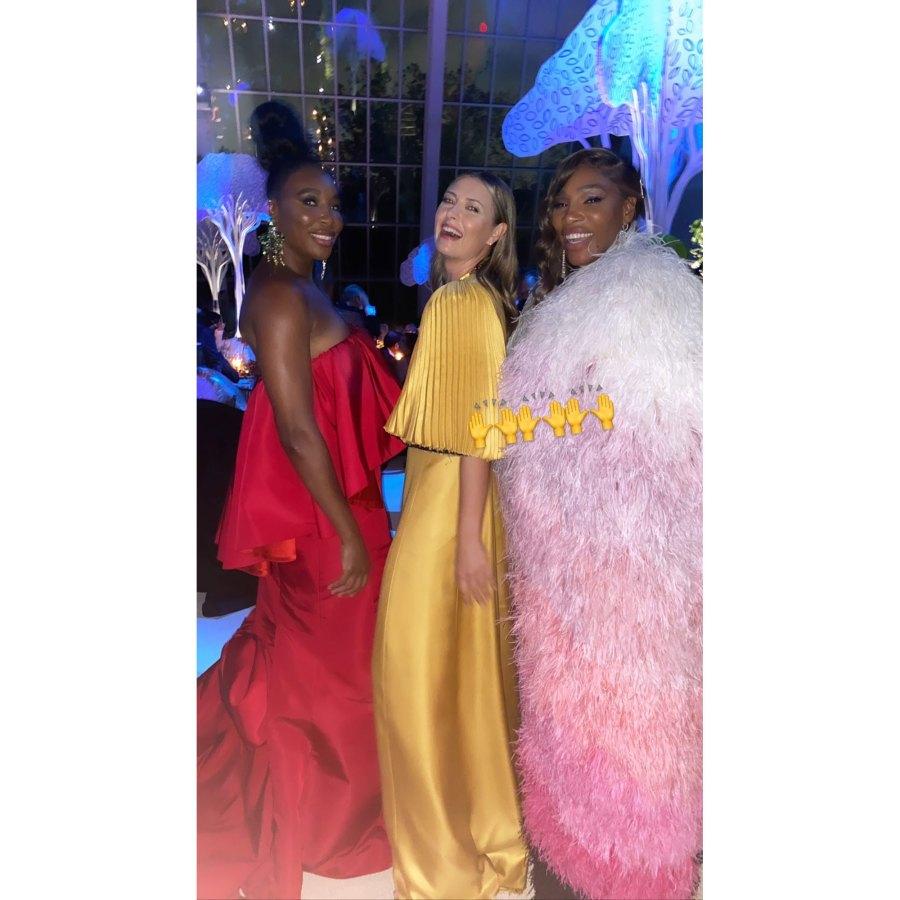 Maria Sharapova Instagram Serena Williams Inside the 2021 Met Gala Best Selfies and Snaps