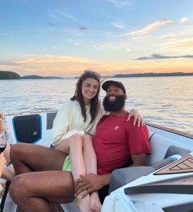 Matt James Finally Shaves Beard Rachael Kirkconnell Boat