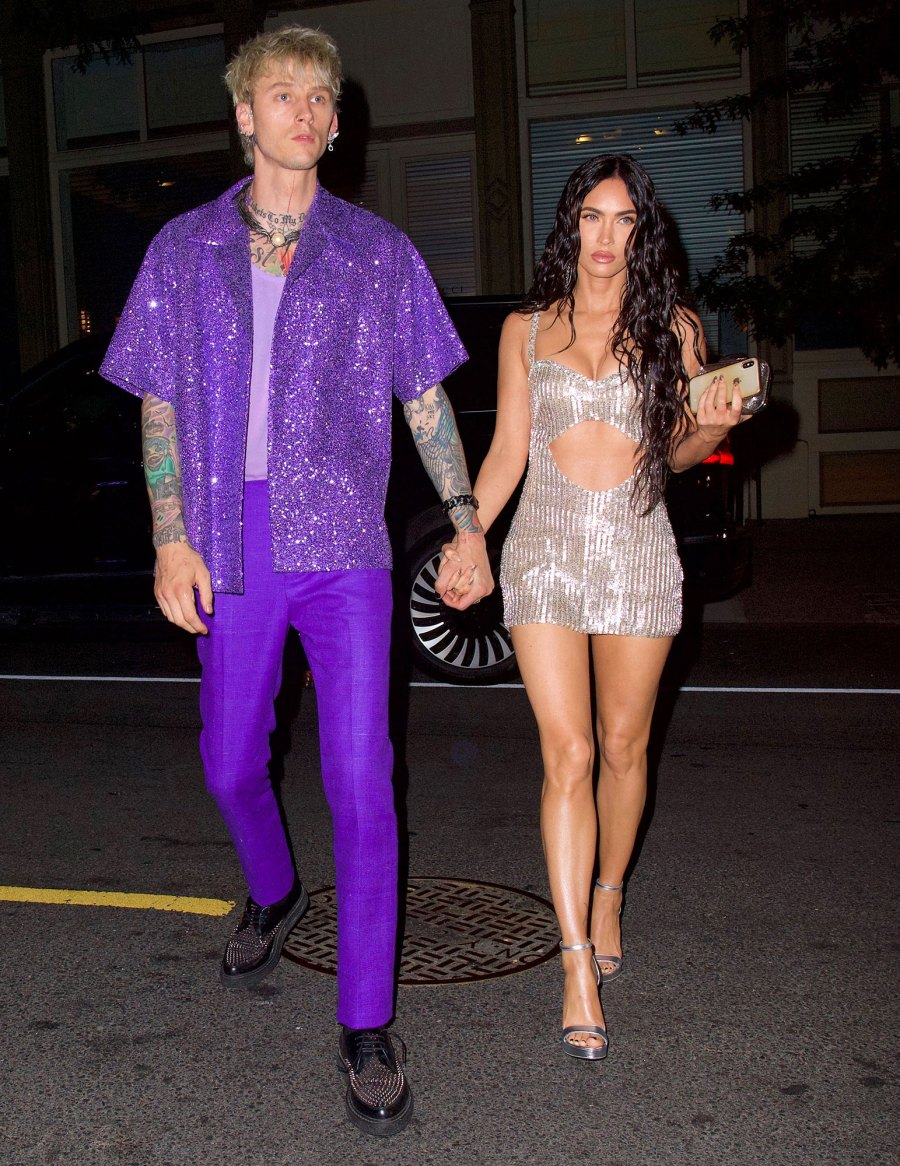 Megan Fox and Machine Gun Kelly Sexiest Couple Style Moments 2
