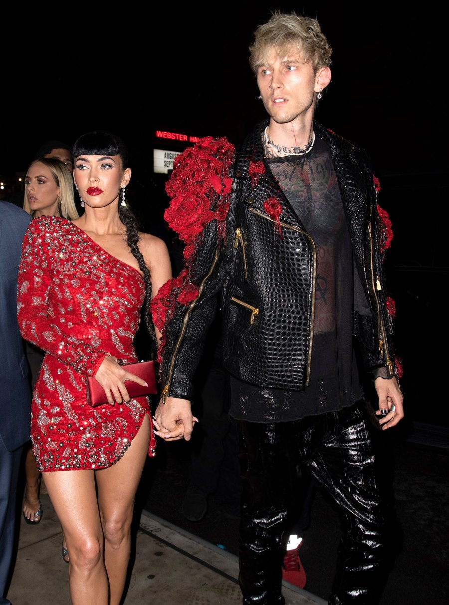 Megan Fox and Machine Gun Kelly Sexiest Couple Style Moments