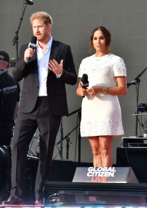 Prince Harry and Meghan Markle encouraged vaccines at Global Citizen