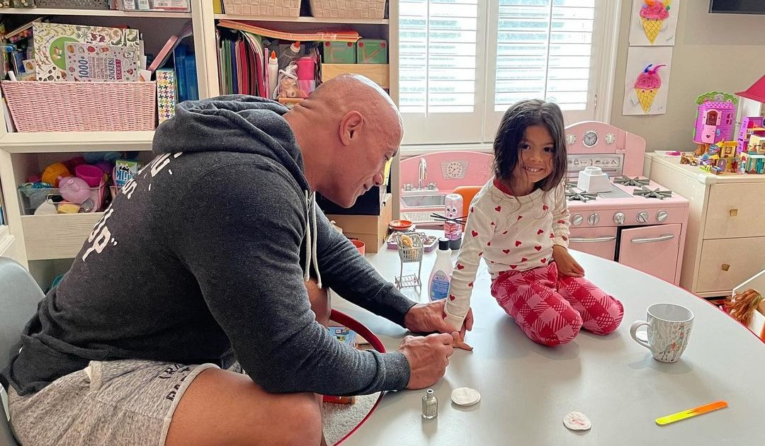 Dwayne 'The Rock' Johnson and Lauren Hashian's CutestPhotosWith Their Daughters: Family Album.jpg