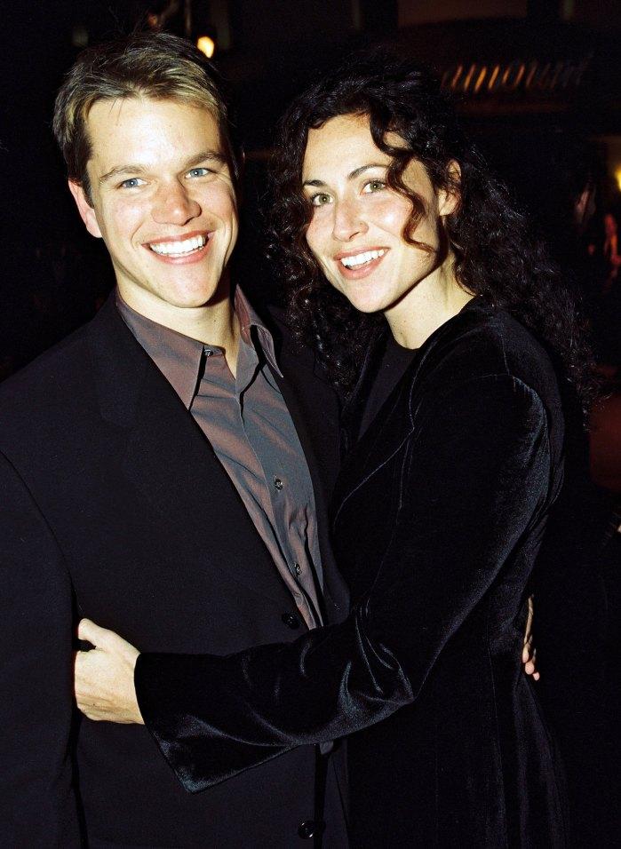 Minnie Driver se encontró con su ex Matt Damon por primera vez en 20 años: 'Todo parecía bastante de mediana edad'
