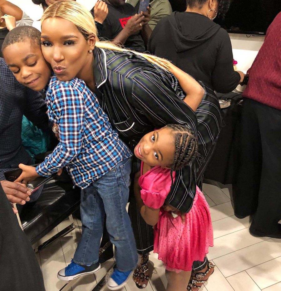 NeNe Leakes Husband Greggs Photos With Their Kids Family Album