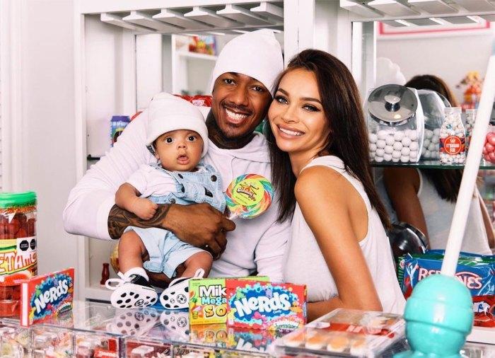 Nick Cannon se toma adorables fotos familiares con Alyssa Scott y Son Zen