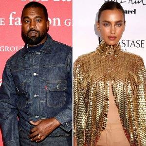 No Drama! Kanye West and Irina Shayk 'Are Still Friends' After Split