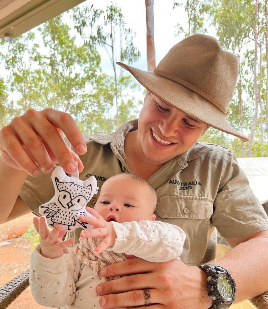 Owl Lover! Bindi Irwin and Chandler Powell's Daughter Meets Zoo Animals