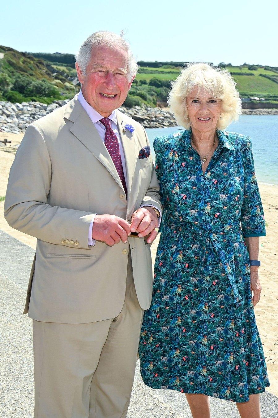 Prince Charles and Duchess Camilla Wish Prince Harry a Happy Birthday