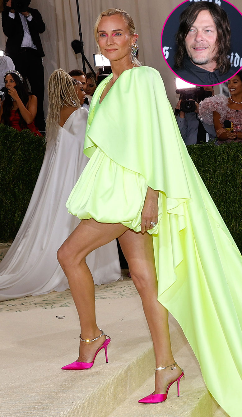 Promo Diane Kruger Debuts Engagement Ring at Met Gala 2021 After Norman Reedus Proposal 3