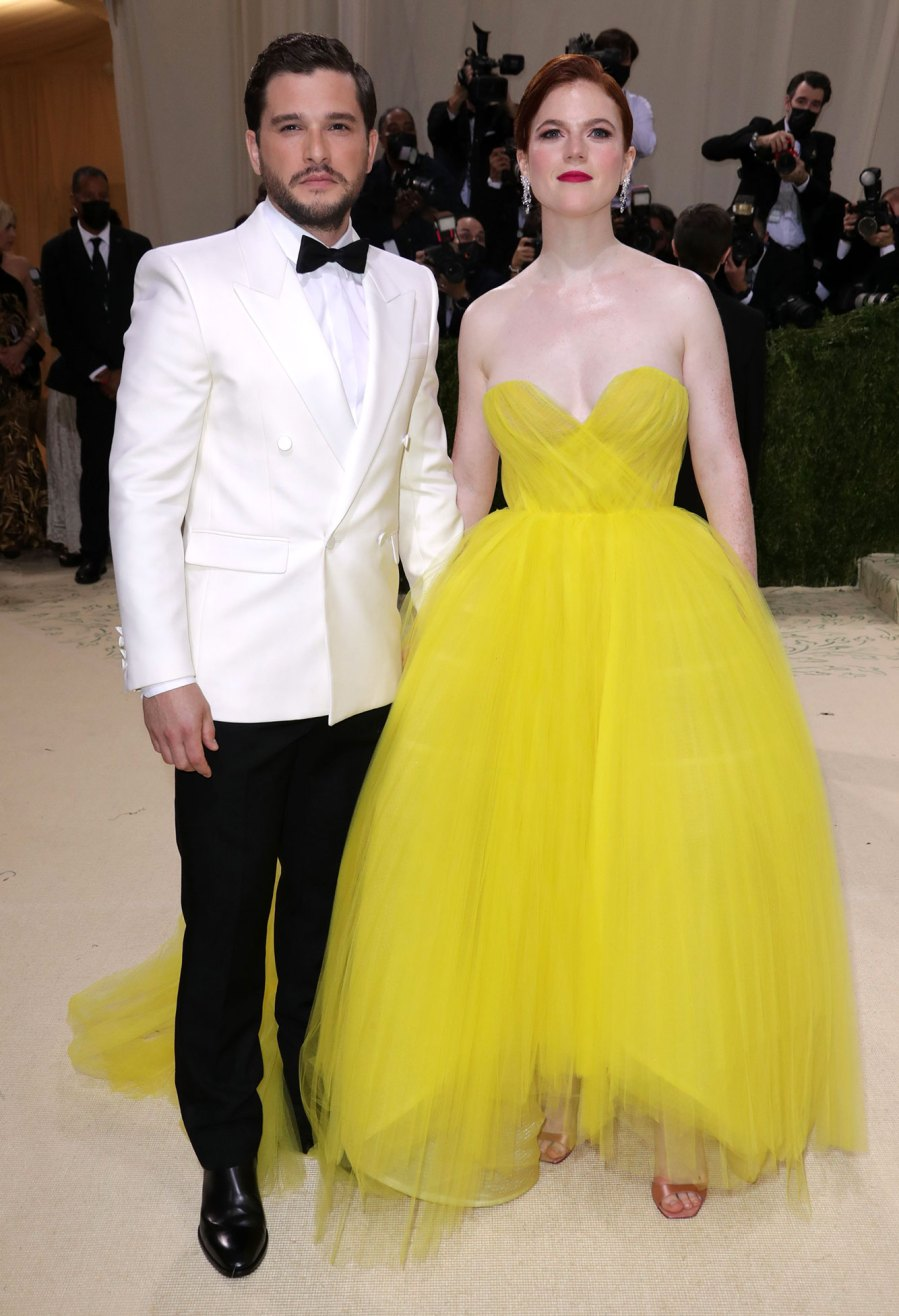 Rose Leslie and Kit Harrington Most Extravagant Celebrity Bling From the 2021 Met Gala