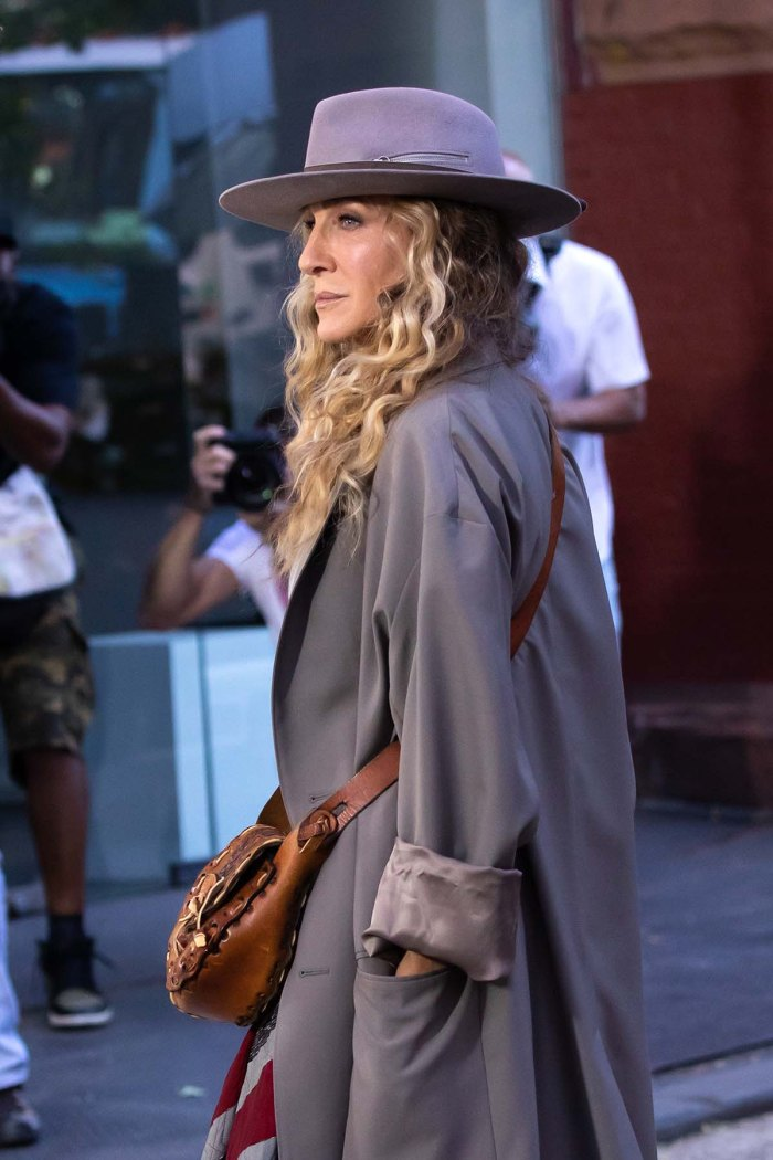 Sarah Jessica Parker Returns And Just Like That Set After Willie Garsons Death