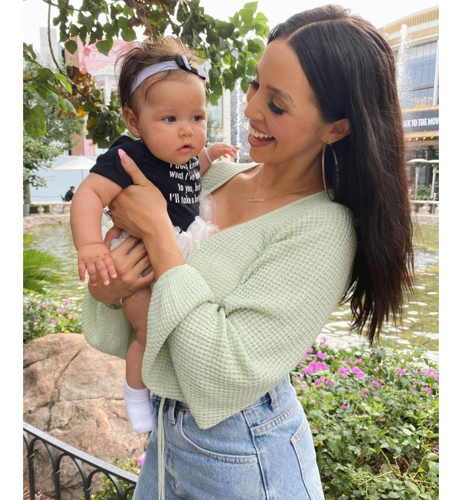 Scheana Shay Instagram 3 Lala Kent Stassi Schroeder Brittany Cartwright and Scheana Shay Reunite With 4 Babies for 1st Time