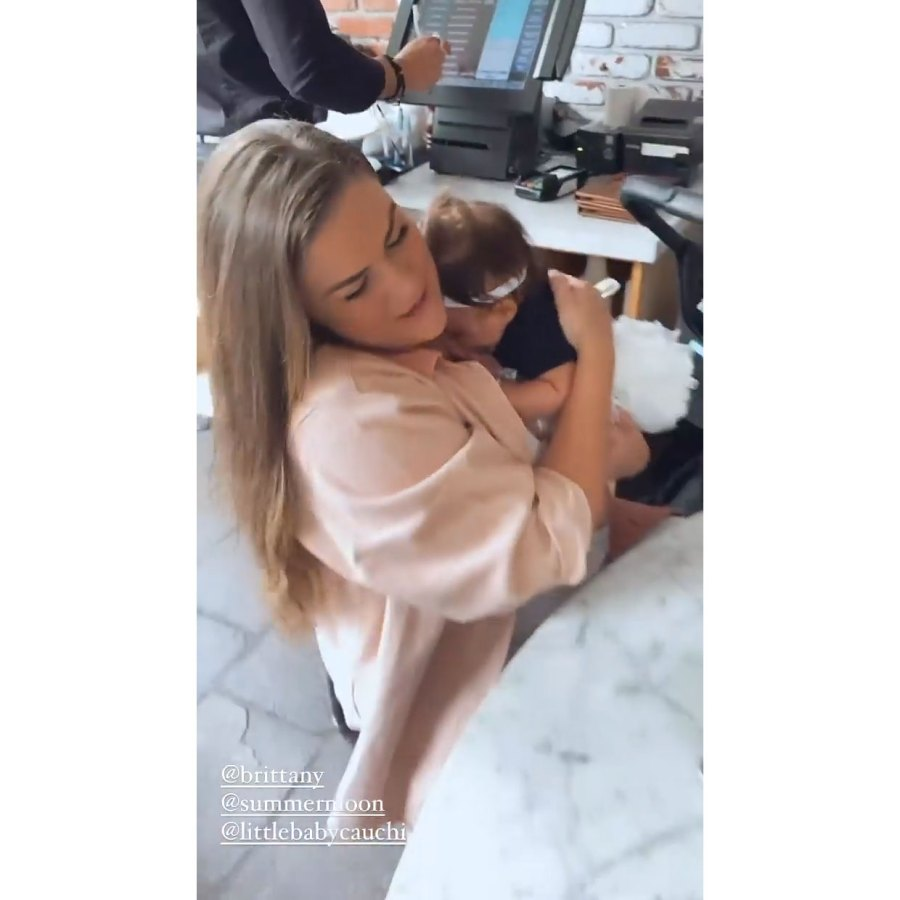 Scheana Shay Instagram 5 Lala Kent Stassi Schroeder Brittany Cartwright and Scheana Shay Reunite With 4 Babies for 1st Time