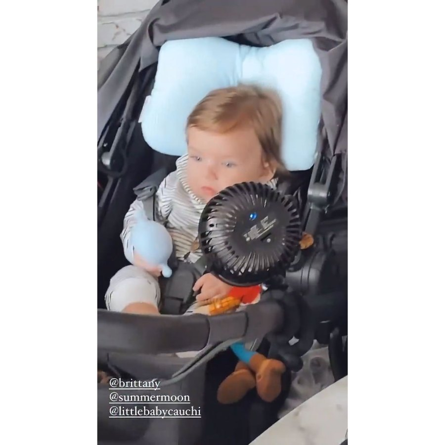 Scheana Shay Instagram 6 Lala Kent Stassi Schroeder Brittany Cartwright and Scheana Shay Reunite With 4 Babies for 1st Time