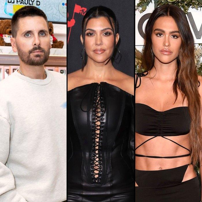 Scott Disick No Longer Following Amelia Hamlin Kourtney Kardashian on Instagram