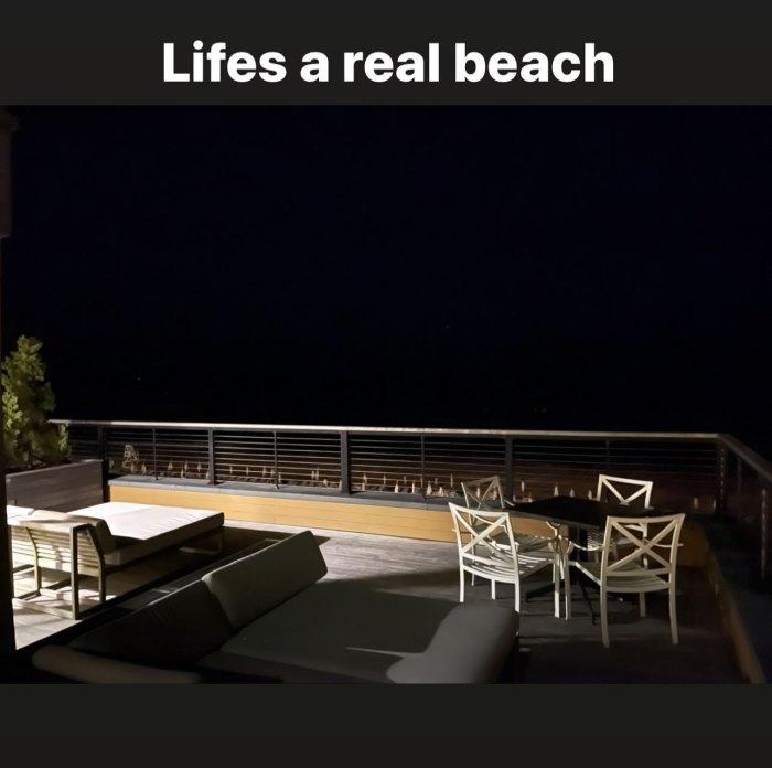 Scott Disick comparte el críptico mensaje de 'Life Is a Real Beach' días después del presunto drama de Younes Bendjima