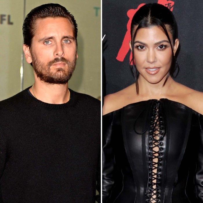 La relación de Scott Disicks con Kourtney Kardashian es inexistente