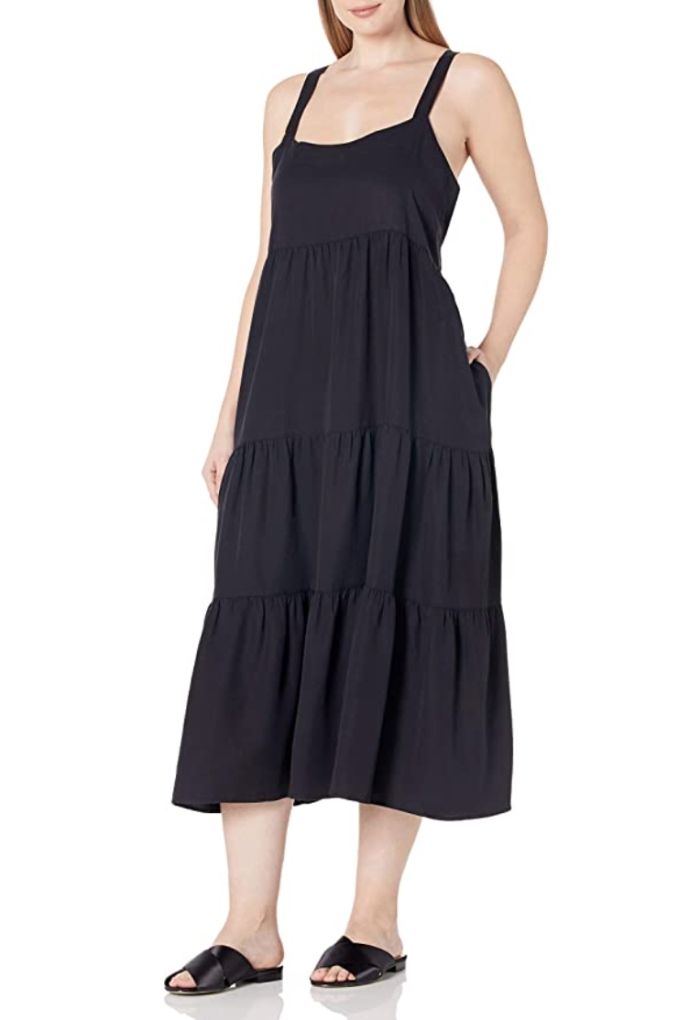 How to Style This Flowy Maxi Dress From Summer to Fall
