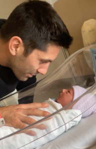 Nev Schulman and Laura Perlongo welcomed their third child.