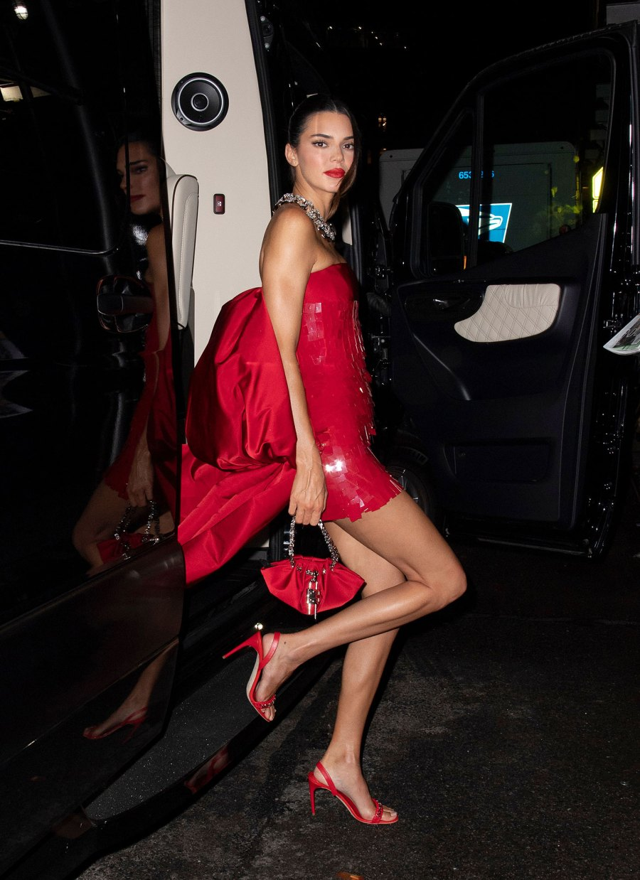 See Fabulous Fashion Stars Wore Met Gala 2021 Afterparties Kendall Jenner
