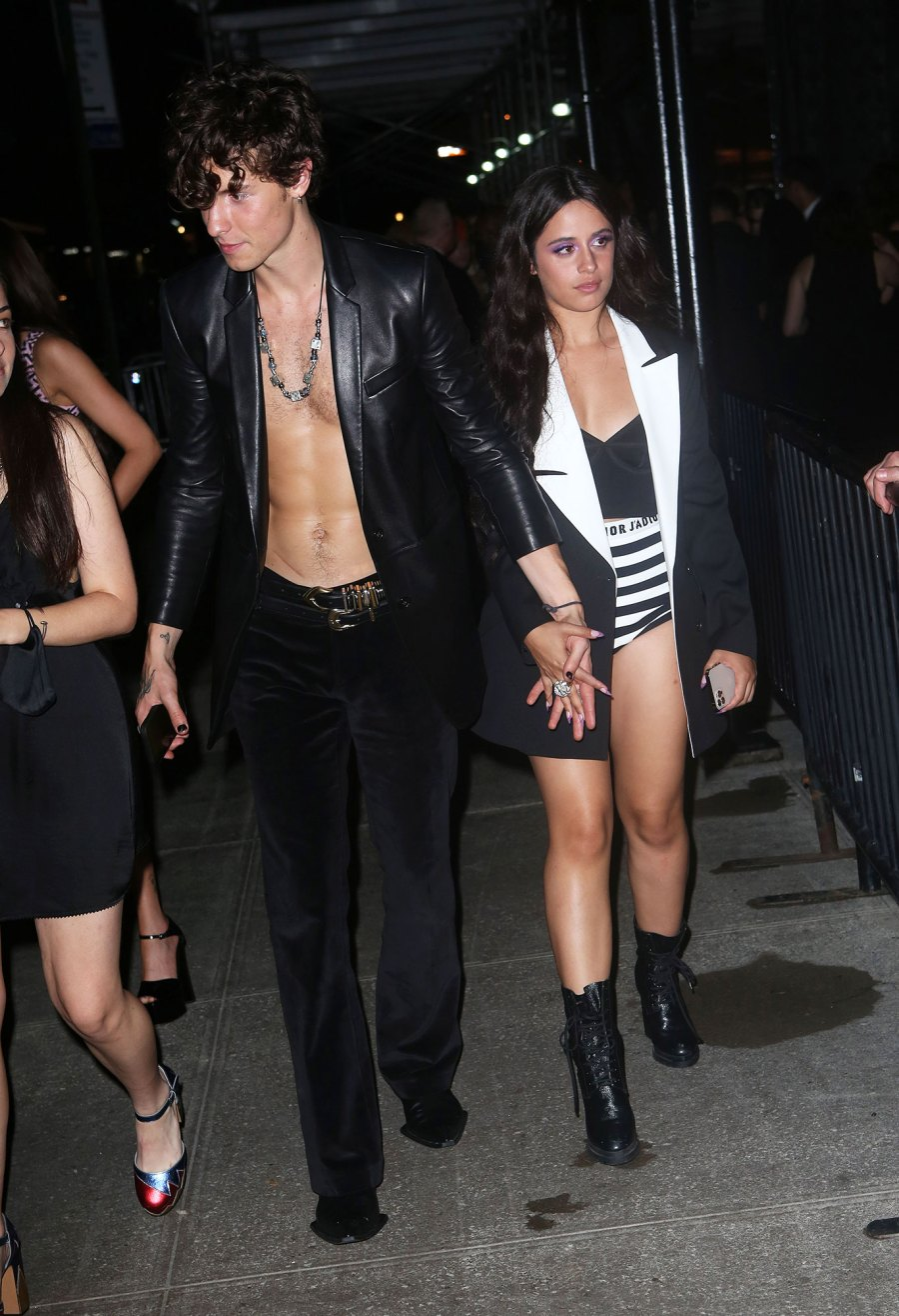 See Fabulous Fashion Stars Wore Met Gala 2021 Afterparties Shawn Mendes Camila Cabello
