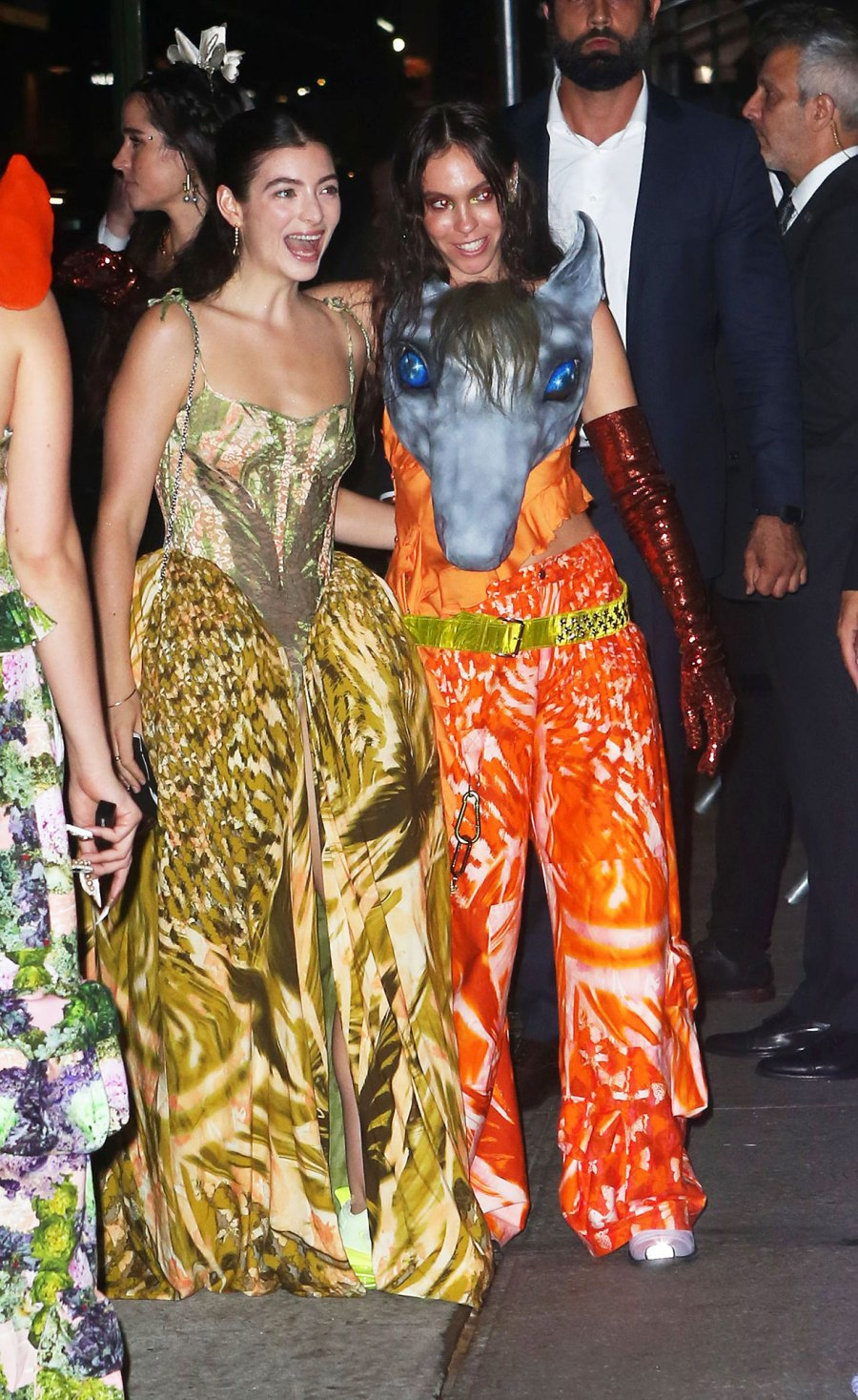 See Fabulous Fashion Stars Wore Met Gala 2021 Afterparties Lorde