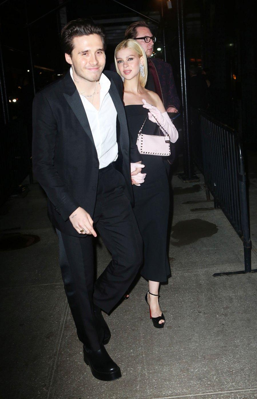 See Fabulous Fashion Stars Wore Met Gala 2021 Afterparties Brooklyn Beckham Nicola Peltz