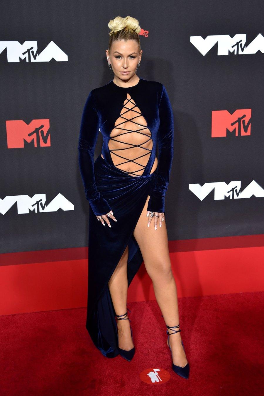 Serena Kerrigan Red Carpet MTV 2021 VMAs
