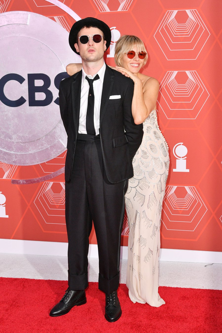 Sienna Miller Supports Ex Tom Sturridge 2021 Tony Awards Tony Awards 2021
