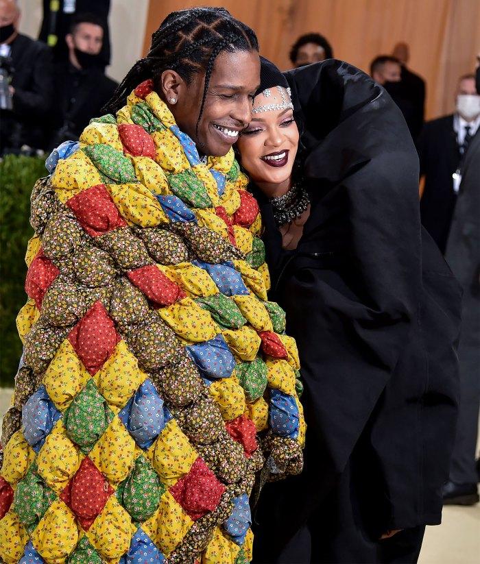 Met Gala 2021 Slay!  Rihanna y A $ AP Rocky llaman la atención sobre la alfombra roja de la Met Gala