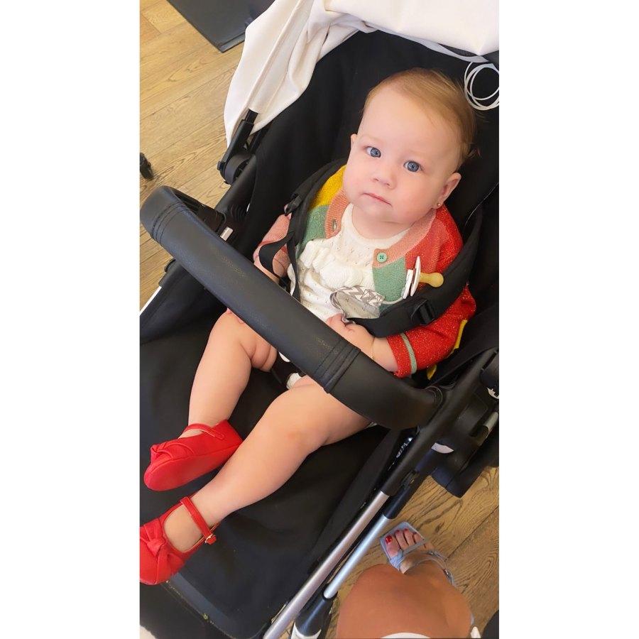Stassi Schroeder Clark Instagram 1 Lala Kent Stassi Schroeder Brittany Cartwright and Scheana Shay Reunite With 4 Babies for 1st Time