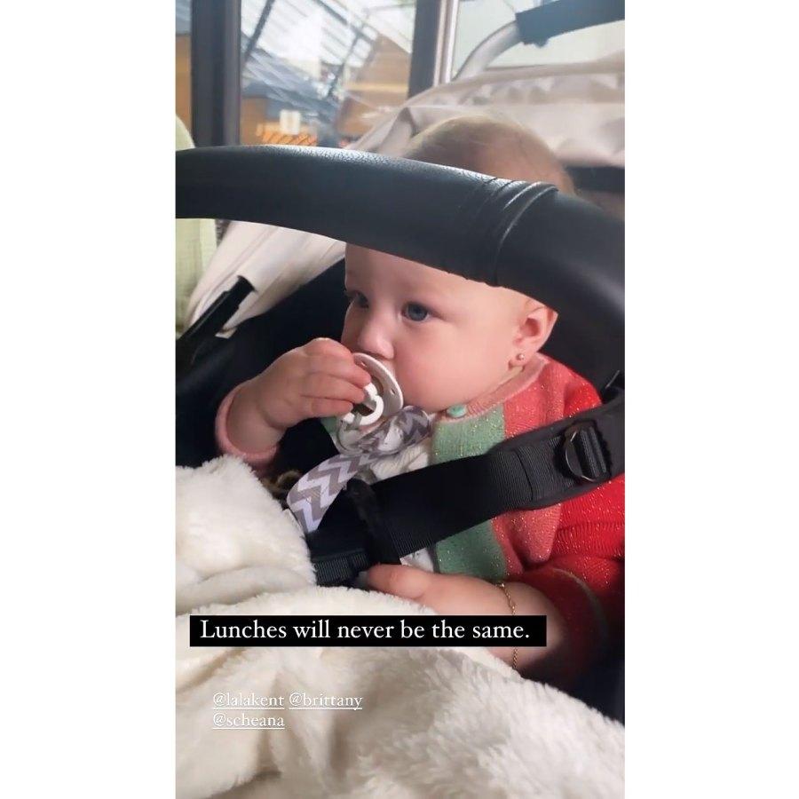 Stassi Schroeder Clark Instagram 2 Lala Kent Stassi Schroeder Brittany Cartwright and Scheana Shay Reunite With 4 Babies for 1st Time