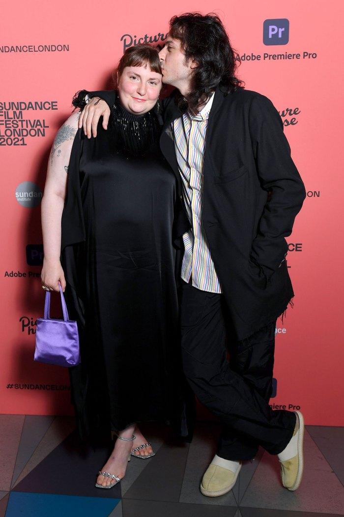 Surprise Lena Dunham Marries Boyfriend Luis Felber