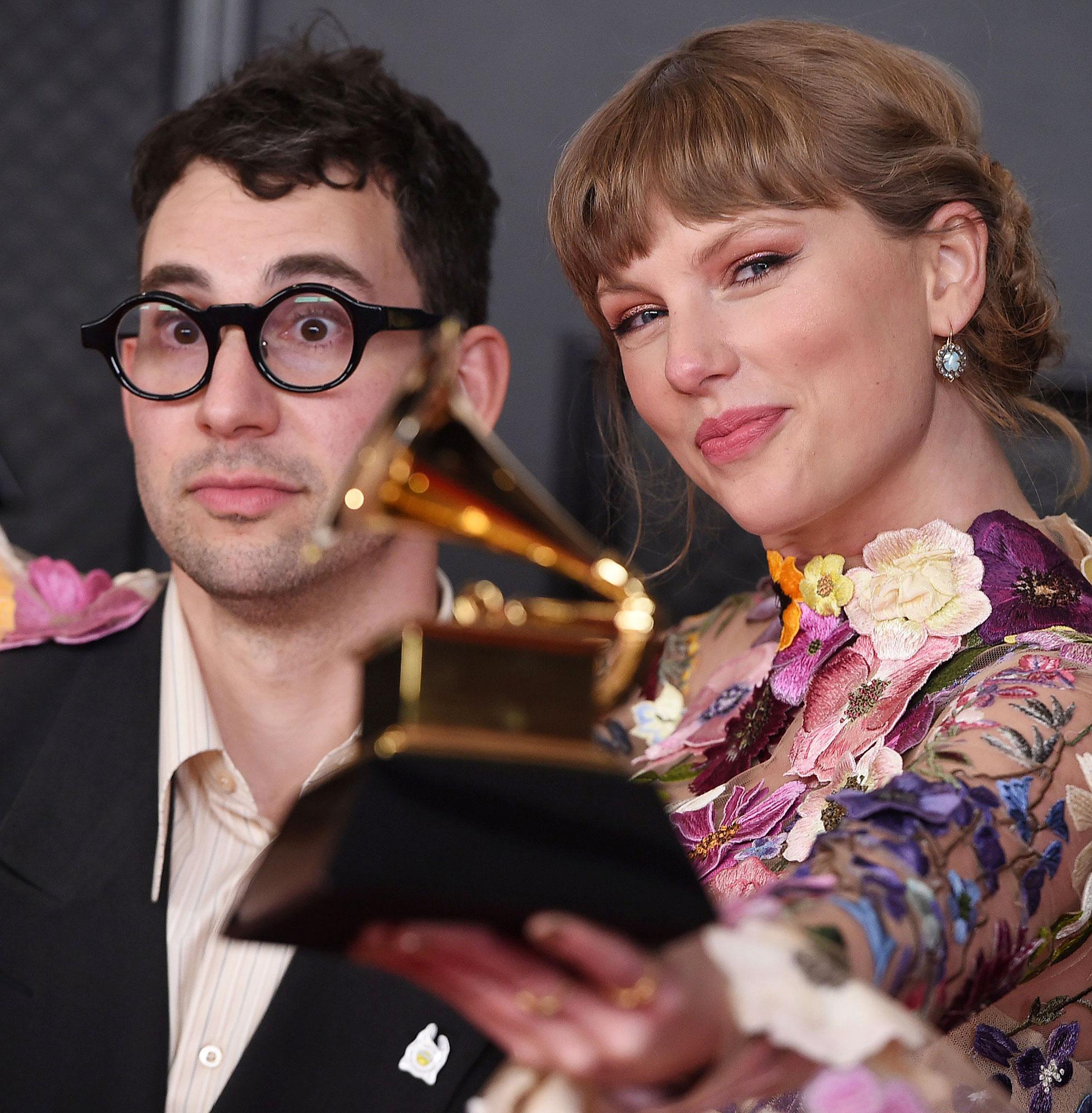 Taylor Swift Was Bridesmaid Lena Dunham Luis Felber Wedding Jack Antonoff Grammy Awards 2021