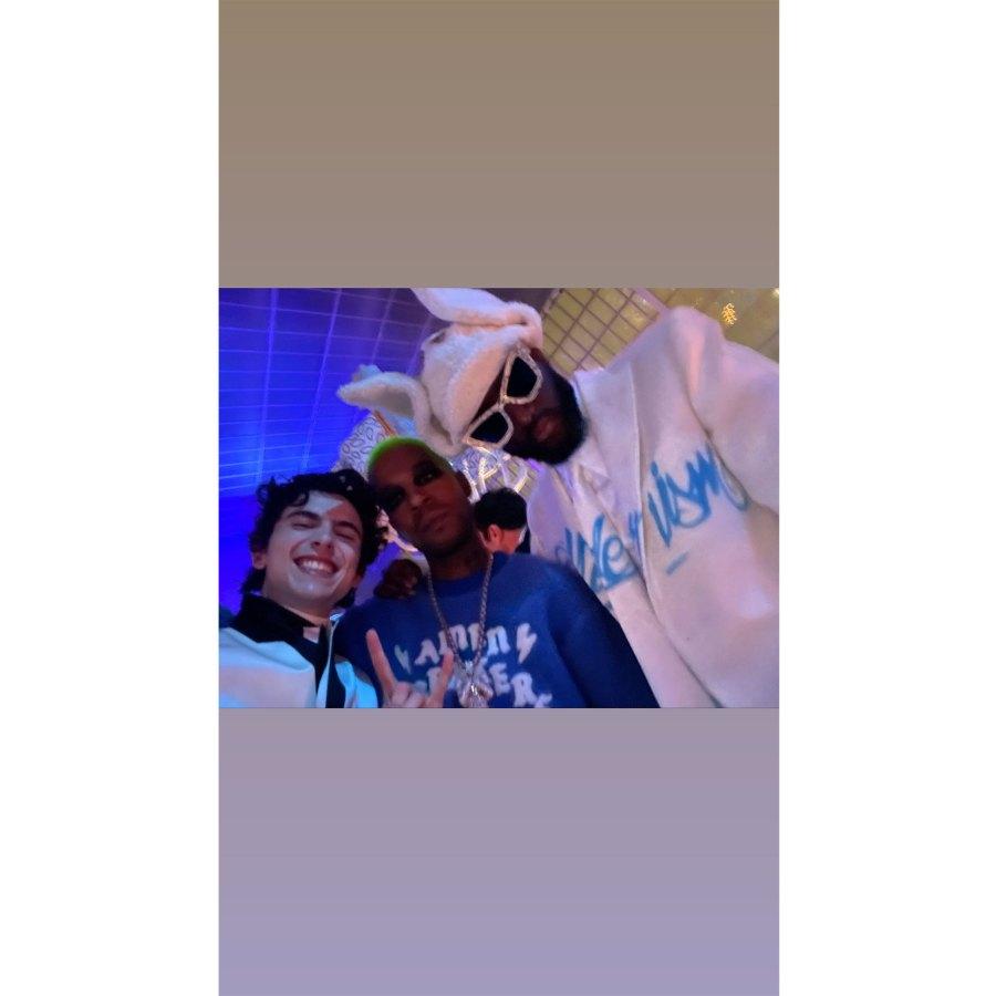 Timothee Chalamet Instagram Frank Ocean Inside the 2021 Met Gala Best Selfies and Snaps