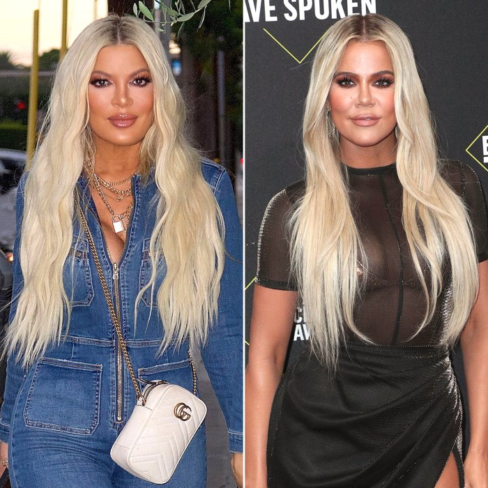 Tori Spelling Shares New Glam Selfie and Fans Freak Out, Comparing Her Look to Khloe Kardashian
