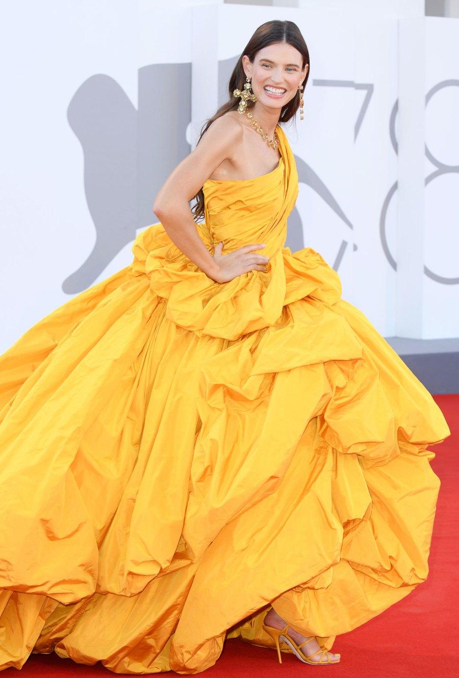 Venice Film Festival 2021 Red Carpet Fashion Bianca Balti
