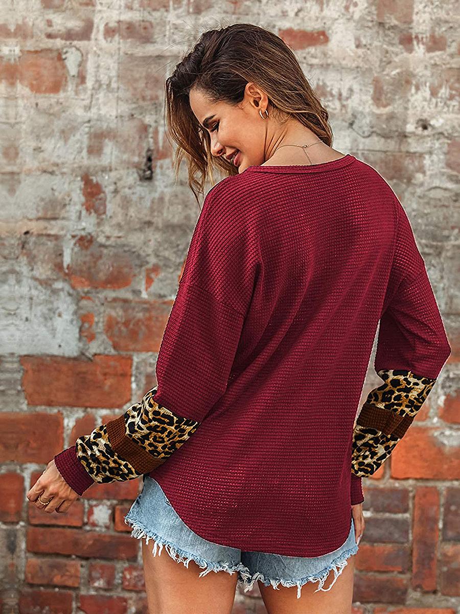 amazon-anna-kaci-leopard-sweater-red