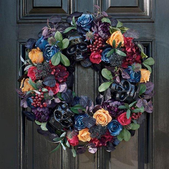grandin-road-halloween-wreath