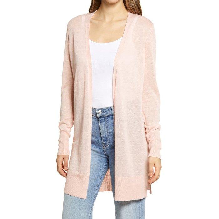 nordstrom-sale-linen-blend-cardigan