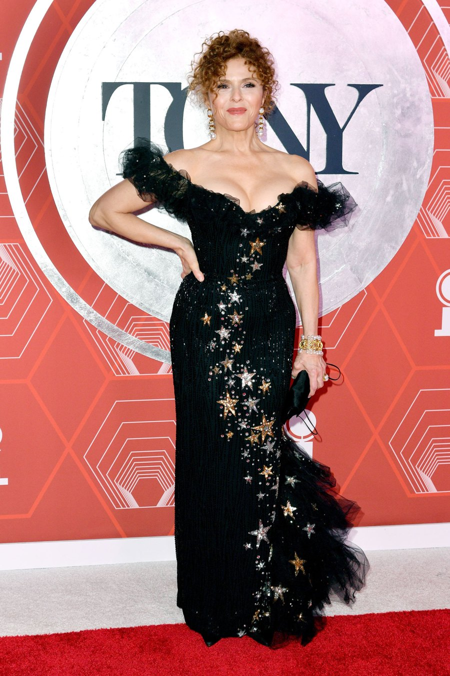 tony awards 2021 red carpet Bernadette Peters