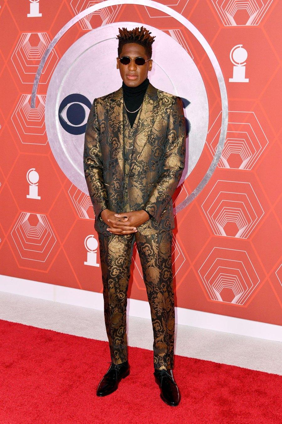 tony awards 2021 red carpet Arturo Holmes