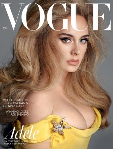 Adele Channels a Sexy Version of Princess Belle on the Cover of 'British Vogue' See the Pics!