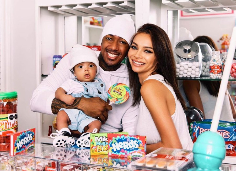Alyssa Scott and Son Zen Nick Cannon Photos With His 7 Children 2