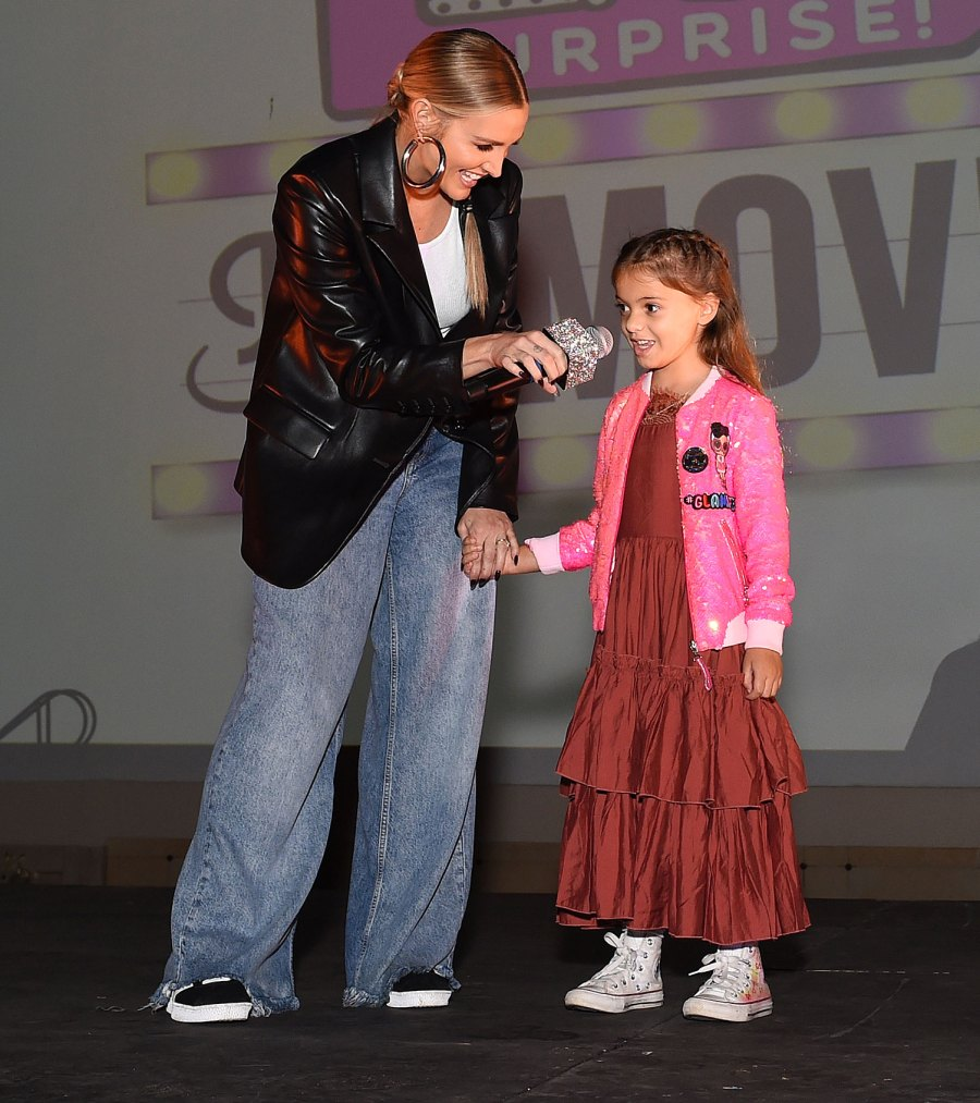 Ashlee Simpson and Evan Ross Bring Daughter Jagger to LOL Surprise Premiere 1