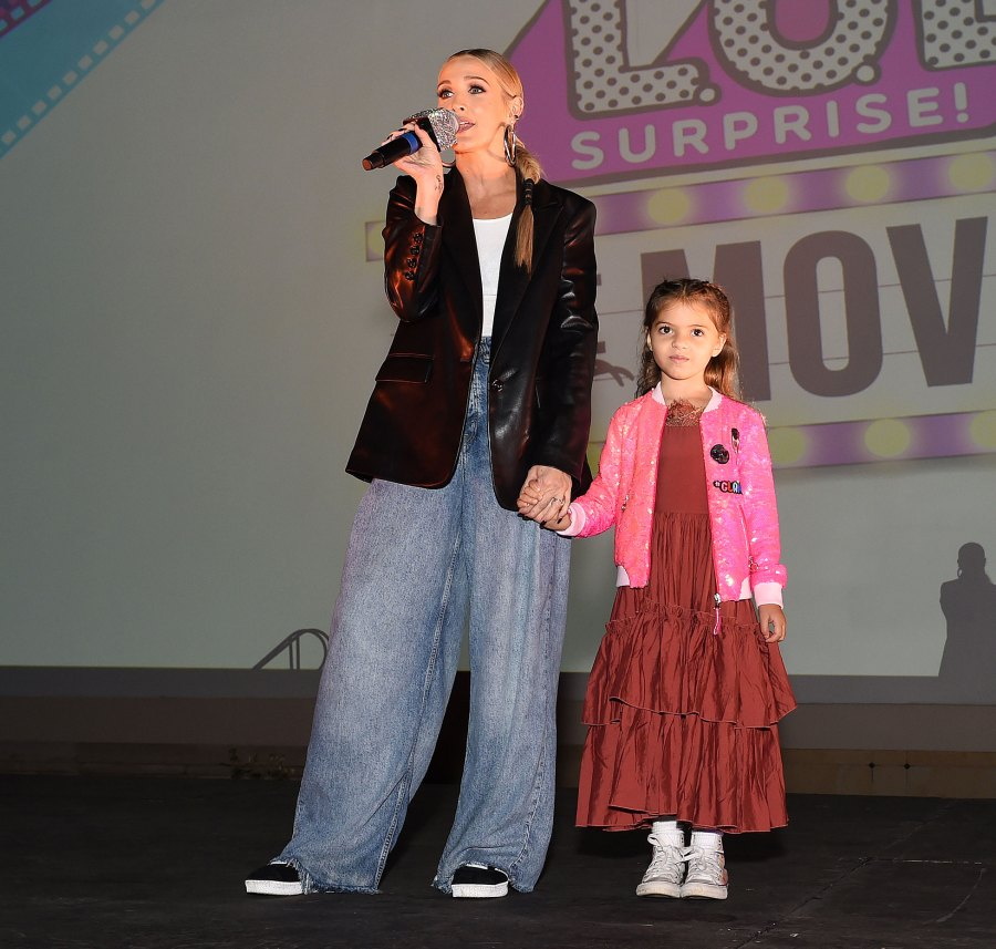 Ashlee Simpson and Evan Ross Bring Daughter Jagger to LOL Surprise Premiere 3